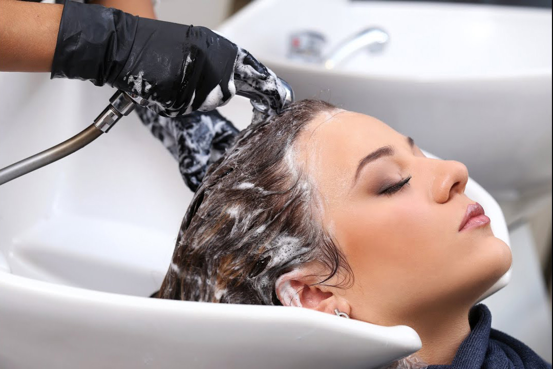 hair washing and styling in columbus indiana
